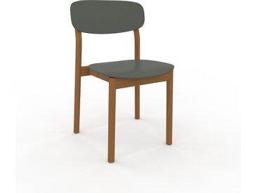 Holzstuhl in Nebelgrün 52 x 82 x 49 cm einzigartiges Design, konfigurierbar
