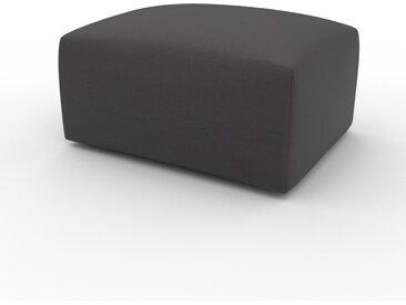 Polsterhocker Schiefergrau - Eleganter Polsterhocker: Hochwertige Qualität, einzigartiges Design - 80 x 42 x 64 cm, Individuell konfigurierbar
