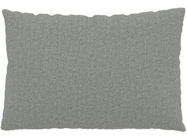 Kissen - Schiefergrau, 40x60cm - Feingewebe, individuell konfigurierbar