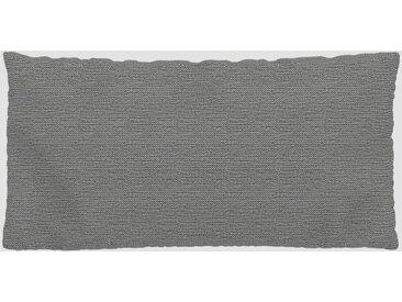 Kissen - Granitweiß, 40x80cm - Strukturgewebe, individuell konfigurierbar