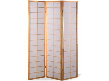 Paravent Japan Traditional Natur 3 teilig