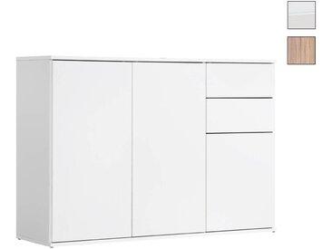 Sideboard & Kommode 'Die Elegante' mit Schubladen & Türen, 117x81x34 cm (B/H/T)