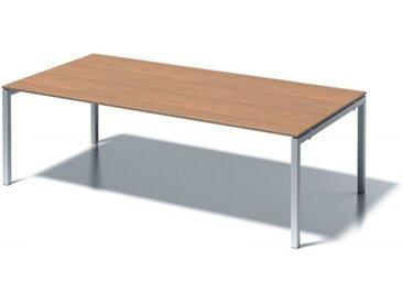 Konferenztisch+ Buche Rechteck: 240 x 120 cm Verkehrsweiß