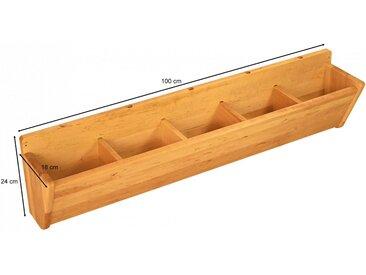 Spar-Set: Robin Kindergartenbank mit Hänge-Garderobe 100 cm
