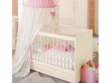 Spar-Set: Lina Babybett mit Bettkasten 70x140 cm, Kiefer weiß