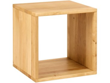 Laura Kinderzimmer Regalwürfel offen 40 x 40cm (B x L) Massivholz Erle