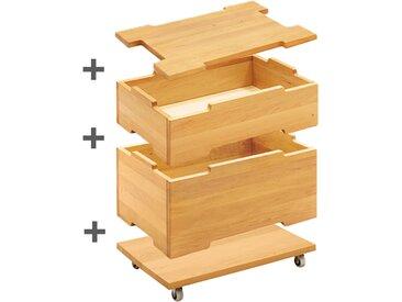Spar-Set Kai Stapelboxen mit Rollen und Deckel