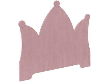 Kai Kopfteil Krone Erle mit farblich passenden Edelsteinen für Stapelbett