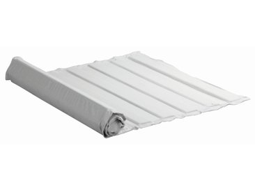 Roll-Lattenrost 90 x 200 cm Massivholz mit Baumwolle