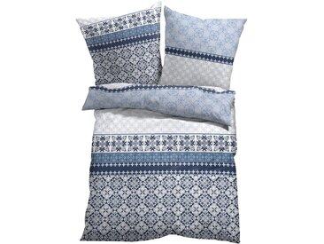Bettwäsche mit Ornamenten weiß bonprix
