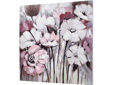 Bild mit Blumen lila bonprix