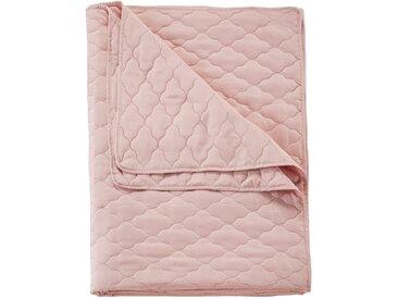 Tagesdecke mit Steppung rosa bonprix