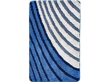 Badematte mit Streifen Design blau bonprix