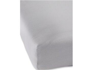 Jersey Premium Spannbettlaken grau bonprix