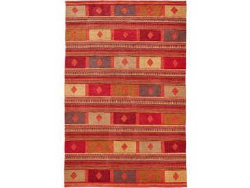 Kelim-Teppich in warmen Farben orange bonprix