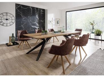 Massivholz Esstisch, Serie TI-0165
