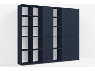 Individualisierbar: Raumtrenner aus Spanplatte in Blau - Moderne