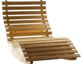 Schaukelliege Liegebreite 140 cm Sonnenliege Gartenliege Relaxliege Holz