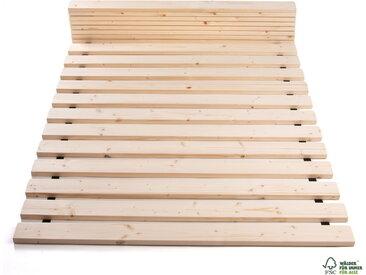 Rollrost Lattenrost 160 x 200 cm 300kg 20 Lamellen bei 200cm Länge