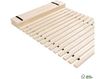 Rollrost Lattenrost 160 x 200 cm 250kg 28 Lamellen bei 200cm Länge