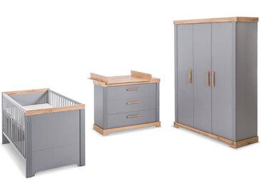roba Baumann Babyzimmer-Set Justus 3tlg. /Taupe, Holz