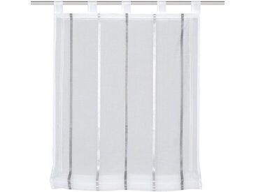 Schmidt Schlaufenrollo Kathy 140 x cm /Grau, Polyester