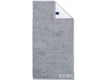 JOOP! Gästetuch Doubleface 30 x 50 cm /Silber, Baumwolle
