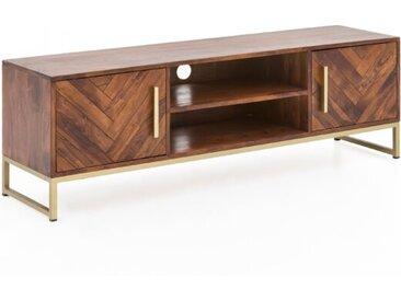 TV-Lowboard Baribone /Akazie, Holz