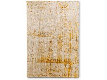 Vintage Teppich Scroom 140 x 200 cm /Gold, Mischgewebe