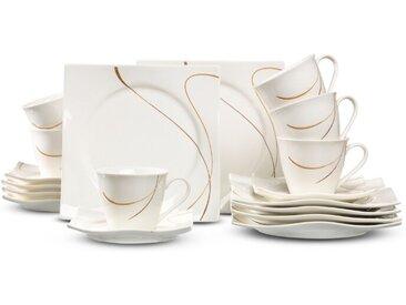 Ritzenhoff & Breker Kaffeeservice Scala 18 tlg., Porzellan