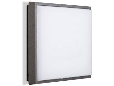 Brilliant LED-Außenwandleuchte Letan /Anthrazit, 17,5 x cm