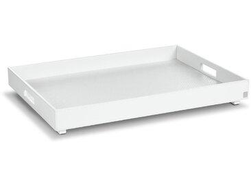 JOOP! Tablett Bathline 66x47 cm /Weiß, Leder