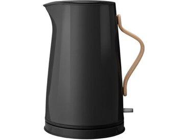 Stelton Wasserkocher Emma 1200 ml /Schwarz, 17,5 cm Stahl