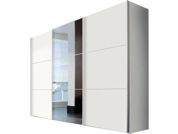 Express Schwebetürenschrank Bianco 300 x 216 cm /Weiß, Kunststoff