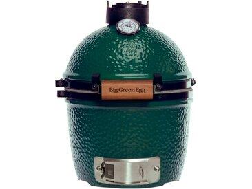 Big Green Egg Holzkohlegrill Mini /Grün, 25 x 43 cm Keramik