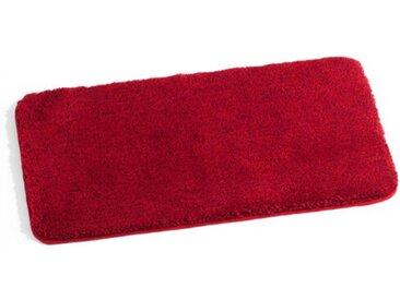 Kleine Wolke Badteppich Relax 85 x 150 cm /Rubin, Polyacryl