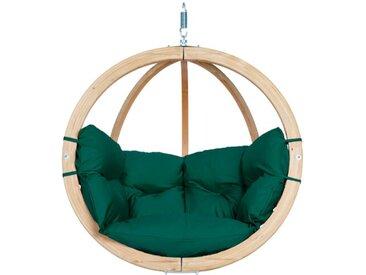 AMAZONAS Hängesessel Globo Chair, verde /Grün, Holz