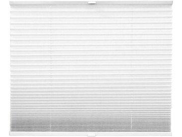 Plissee Solid Crash 60 x 130 cm /Weiß, Polyester