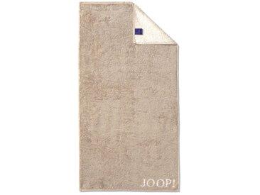 JOOP! Gästetuch Doubleface 30 x 50 cm /Sand, Baumwolle