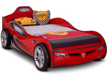 Cilek Autobett Coupe 90 x 190 cm /Rot, Kunststoff