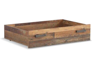 FORTE Bettkasten Clif 85 x 67,4 cm /Braun, Holz