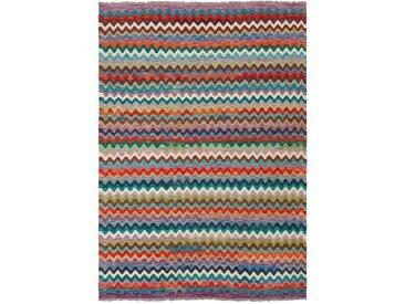 Kelim Teppich Kaudani 175 x 245 cm /Bunt, Schurwolle