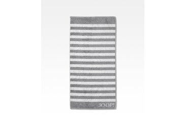JOOP! Duschtuch Classic Stripes 80x150 cm /Silber, 80 x 150