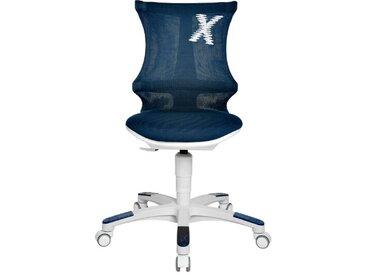 Sitness Drehstuhl X Chair 10 /Petrol, Stoff