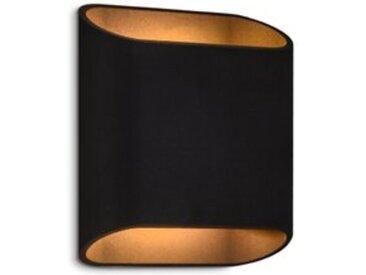 DesignLive LED-Außenwandleuchte AVENUE /Anthrazit, Alu, Eisen,