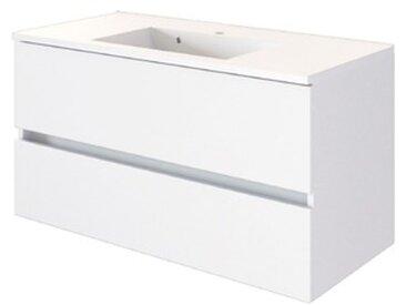 Held-Möbel Waschtisch Baabe /Weiß, 100 cm