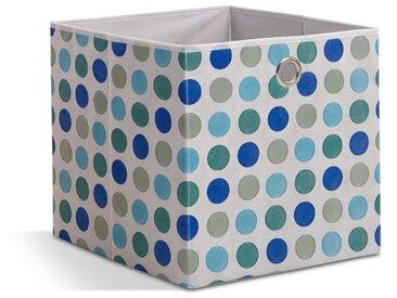 FMD Faltbox Ciavolo /Blau gepunktet, Kunststoff
