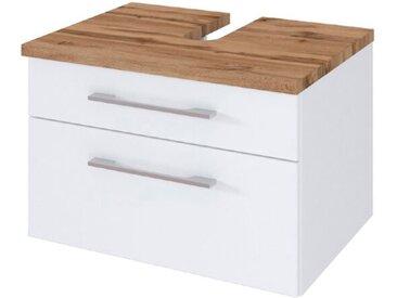 Held-Möbel Waschbeckenunterschrank Davos /Weiß