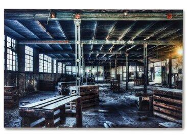 KARE Glasbild 150 x 100 cm Factory 38169 /Bunt, Glas