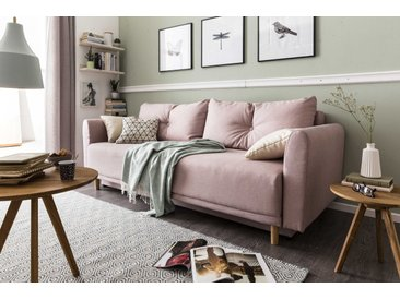 BOOOM Schlafsofa Scandic /Rose, Stoff